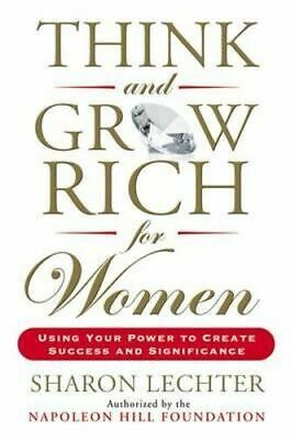 NEW Think and Grow Rich for Women By Sharon Lechter Paperback Free Shipping