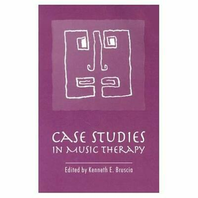Case Studies in Music Therapy - Paperback NEW Bruscia, Kennet 1991-07-30