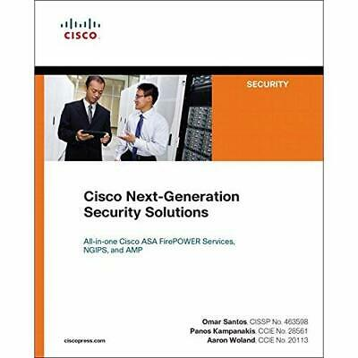 Cisco Next-Generation Security Solutions: All-in-one Ci - Paperback NEW Santos,