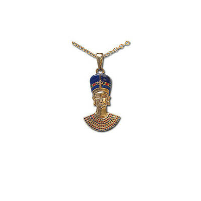 Egyptian Queen Nefertiti Pendant With Necklace Jewelry.ancient Egypt Gift J209