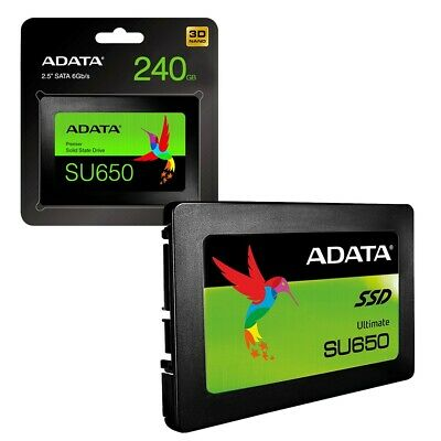 ADATA SU650 240GB 3D NAND 2.5 inch SATA III High Speed SSD Solid State Drive