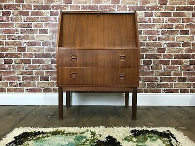 Stunning Danish Bureau - Vintage Retro Desk Sideboard Rosewood Chest of Drawers