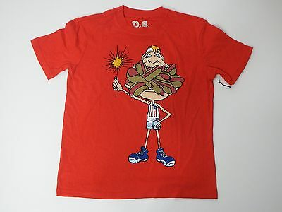 b42dd07ae Boy Short Sleeve Graphic T Shirt Crew Neck Red P.S From Aeropostale Size 8