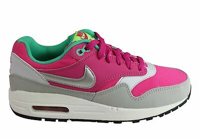 New Nike Air Max 1 (Gs) Older Kids Girls Trainers Sport Shoes