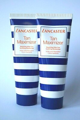 LANCASTER - TAN MAXIMIZER - FACE & BODY - TUBE - 2 x 75 ML NEU *#82-3-3