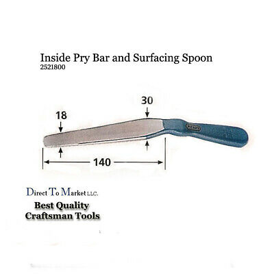 Picard Pry & Bumping Spoon auto body 2521800 auto body dent repair shape tools