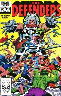 Defenders (1st Series) #113 1982 VF Stock Image