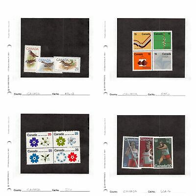 Lot of 37 Canada MNH Mint Never Hinged Stamps Scott Range 496 - 1205 #137283 R
