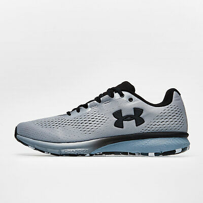 Under Armour Mens UA Charged Spark Running Shoes Footwear Sports Trainers Silver