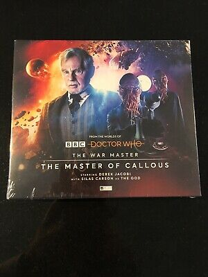 Doctor Dr. Who The War Master 2 The Master of Callous Big Finish CDs NEW