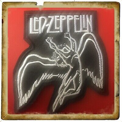 🇨🇦 Led Zeppelin Swan Song Embroidered Patch Sew On/stick On Cloth/new 🇨🇦#456
