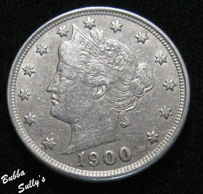 1900 Liberty Head 'V' Nickel <> EXTREMELY FINE