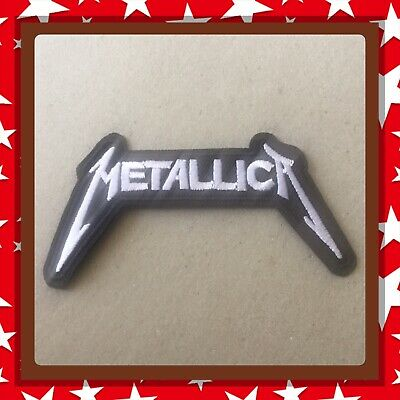🇨🇦Metallica Logo Heavy Rock Punk  Embroidered Patch  Sew On/stick On /new