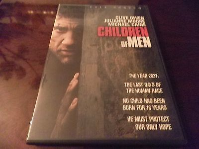 Children of Men (DVD, 2007, Full Frame) Clive Owen, Julianne Moore