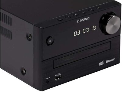 Kenwood M-718BT Micro HiFi-System mit CD, USB und Bluetooth Audio-Streaming