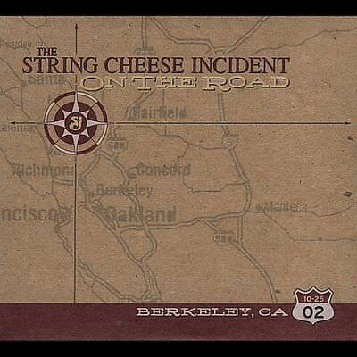1 CENT 3CD On the Road: 10-25-02 Berkeley, CA - String Cheese Incident