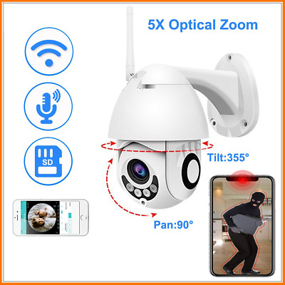 Wireless 1080P HD WiFi IP Security CCTV Outdoor Camera IR WebCam TF Slot Network