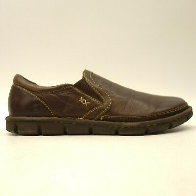 2d63fe725d799 Born Mens US 11.5 Sawyer Leather Laid Back Casual Dress Slip-On Loafers  Shoes
