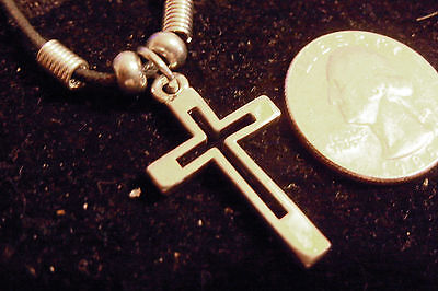bling pewter church jesus cross crucifix fashion pendant charm necklace jewelry