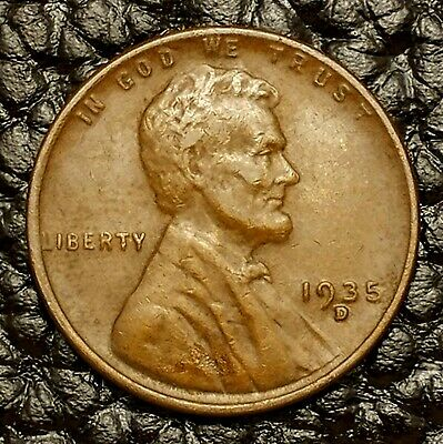 1935-D Lincoln Wheat Cent in AU Condition ~ $20 ORDERS SHIP FREE!