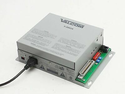 Valcom V-2003A 3-Zone One-Way All-Call Paging Telephone System Control Unit