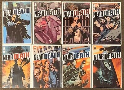 Near Death #1,2,3,4,5,6,7,8 Image Comics Faerber Guglielmini Riley lot Set Nm