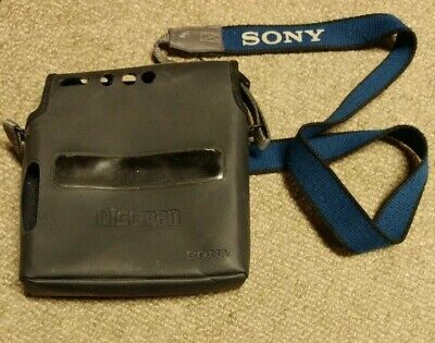 Sony Travel Bag/Case with strap for Discman D-T4, case only, good condition