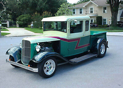 1933 Ford Other Pickups FIVE WINDOW PICKUP - TUBBED FAST & SMOOTH HOTROD - 1933 Ford Five Window Pickup