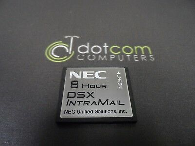 NEC 4 Port 8 Hour DSX Intra-Mail Flash DX7NA Voice-mail 1091011