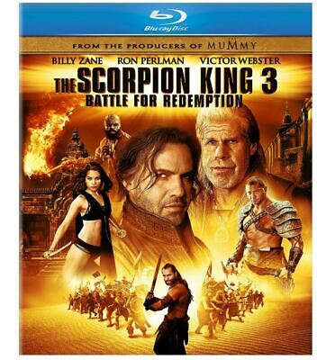 The Scorpion King 3: Battle for Redemption Blu-ray + DVD BRAND NEW Free shipping