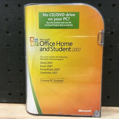 Microsoft Office Home And Student 2007 - Like New Excellent Condition