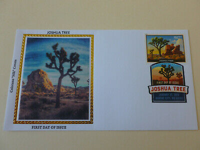 Sc#5347 Joshua Tree 2019 Priority Mail $7.35 Fdc [DCP CANCEL] Colorano Cachet