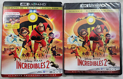INCREDIBLES 2 (2018) 4K Ultra HD Blu-ray Ultimate Collector's Edition 3-Disc Set