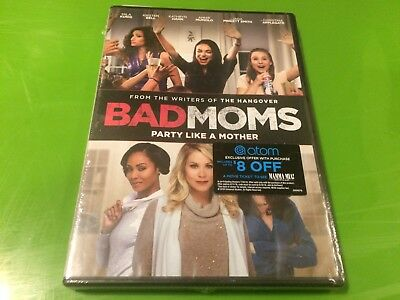 BAD MOMS (DVD,2016)  New sealed fast shipping USA FREE S/H