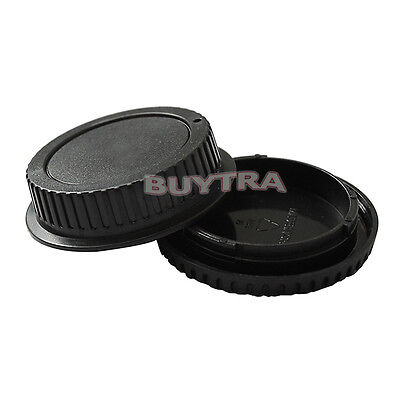 Body Cover + Lens Rear Cap for CANON EF Camera + Lens Protect Useful BDAU