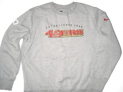 09eb9c0d1227 Bubba Ventrone Player Issued Official San Francisco 49Ers  41 Nike Xl  Sweatshirt