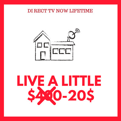 🔥 Direct TV Now | Live A Little | Warranty Fast delivery