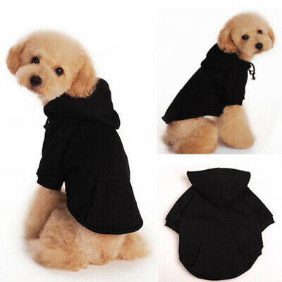 Hoodie Costume Warm Dog Clothes Pet Jacket Coat Puppy Cat Winter Sweater Apparel
