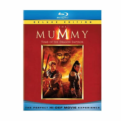 The Mummy:Tomb of the Dragon Emperor Blu-ray Disc