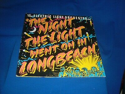 Elo The Night The Light Went On In Longbeach Plays Near Mint