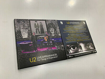 U2  Cd + Dvd  Live Appearances For Songs Of Experience