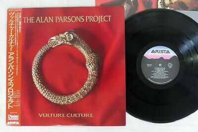 ALAN PARSONS PROJECT VULTURE CULTURE ARISTA 25RS-239 Japan OBI VINYL LP