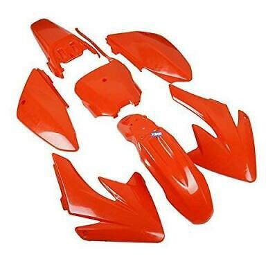 HMParts Dirt Bike  Pit Bike Verkleidung SET CRF 70 - Style orange Typ 6
