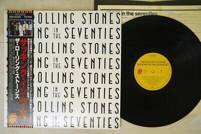 ROLLING STONES SUCKING IN THE SEVENTIES ROLLING STONES ESS-81425 Japan OBI LP