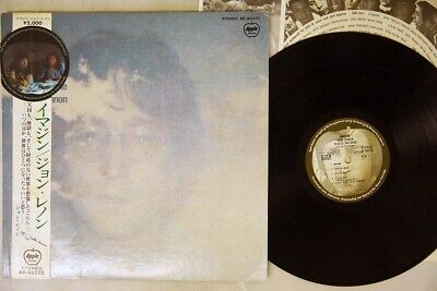 JOHN LENNON / PLASTIC ONO BAND IMAGINE APPLE AP-80370 Japan OBI VINYL LP
