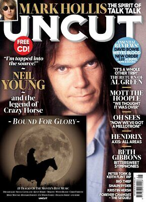 Uncut Magazine + Cd May 2019 (Neil Young, Mark Hollis, Al Green, Mott, Can) New