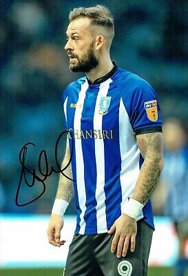 Steven FLETCHER Sheffield Wednesday SWFC SIGNED 12x8 2018/19 Photo 1 AFTAL COA