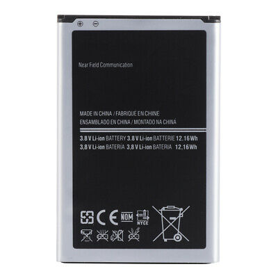 For Samsung Galaxy Note 3 N9000 N9002 Li-ion Spare Batterie 3200mAh B800BE BC798
