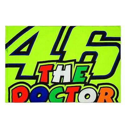 Flagge VR46 The Doctor Flag VR|46 Valentino Rossi MotoGP Fahne
