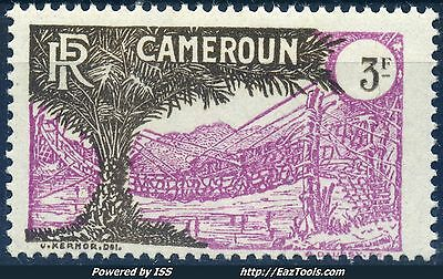 Cameroun 3F Lilas Et Brun N° 148 Neuf ** Gomme Sans Charniere